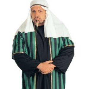 PLUS SIZE Arab sheik costume 46-52 jacket size